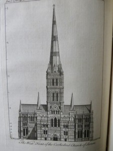 Photo of A Description Of That Admirable Structure, The Cathedral Church Of Salisbury With The Chapels, Monuments, Grave-Stones, And Their Inscriptions. To Which Is Prefixed, An Account Of Old Sarum. Illustrated With Copper-Plates. by PRICE, Francis.
