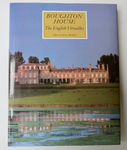 Photo of Boughton House. The English Versailles. by MURDOCH, Tessa (editor).