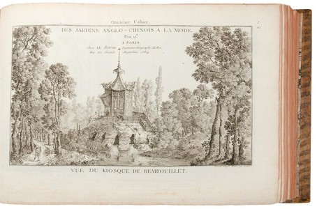 Photo of Les Jardins Anglo-Chinois. by LE ROUGE, George Louis (publisher).