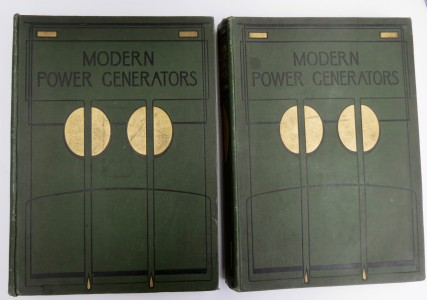 Photo of Modern Power Generators. Steam Electric And Internal Combustion And Their Application To Present-Day Requirements. by FRENCH, James Weir.