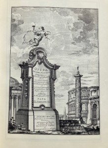 Photo of (Opera Del Caval. Francesco Boromino l... . with Opus architectonicum Equitis Francisci Boromini... . Rome, Giannini, 1720, 1725.) by BORROMINI, Francesco.