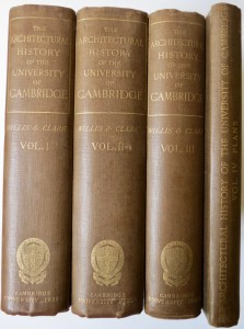 Photo of The Architectural History Of The University Of Cambridge, And Of The Colleges Of Cambridge And Eton. ... Edited With Large Additions, And Brought Up to The Present Time By John Willis Clark, M.A. by WILLIS, Robert and John Willis CLARK.