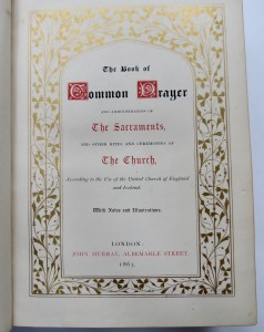 Photo of The Book of Common Prayer And Administration Of The Sacraments, And Other Rites And Ceremonies Of The Church, According to the Use of the United Church of England and Ireland. With Notes and Illustrations. by JONES, Owen (designer).