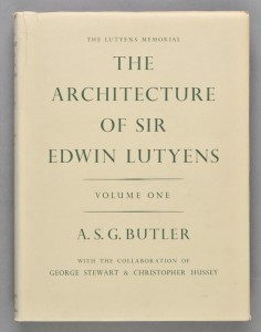 Photo of The Lutyens Memorial. The Architecture Of Sir Edwin Lutyens. Volume I: Country Houses. Volume II: Gardens: Lay-Outs And Town-Planning: Bridges: Imperial Dehli: Johannesburg Art Gallery: The Washington Embassy: University Buildings. Volume III:Town and Public Buildings: Memorials: The Metropolitan Cathedral, Liverpool. *With* The Life Of Sir Edwin Lutyens. by BUTLER, A.S.G. With The Collaboration Of George STEWART & Christopher HUSSEY.